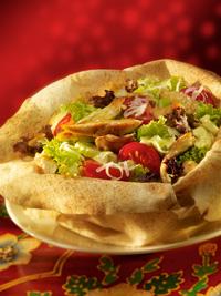 Mananca o salata cu pui indiana la Ramayana Cafe Bucuresti!
